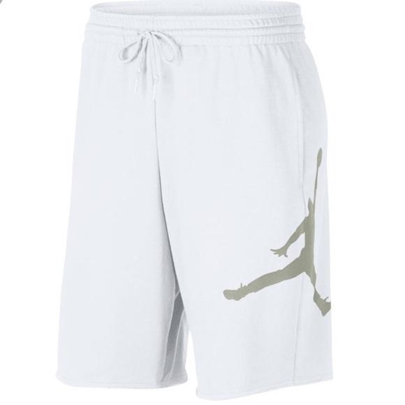 Jordan Jumpman Logo Mens Fleece Shorts